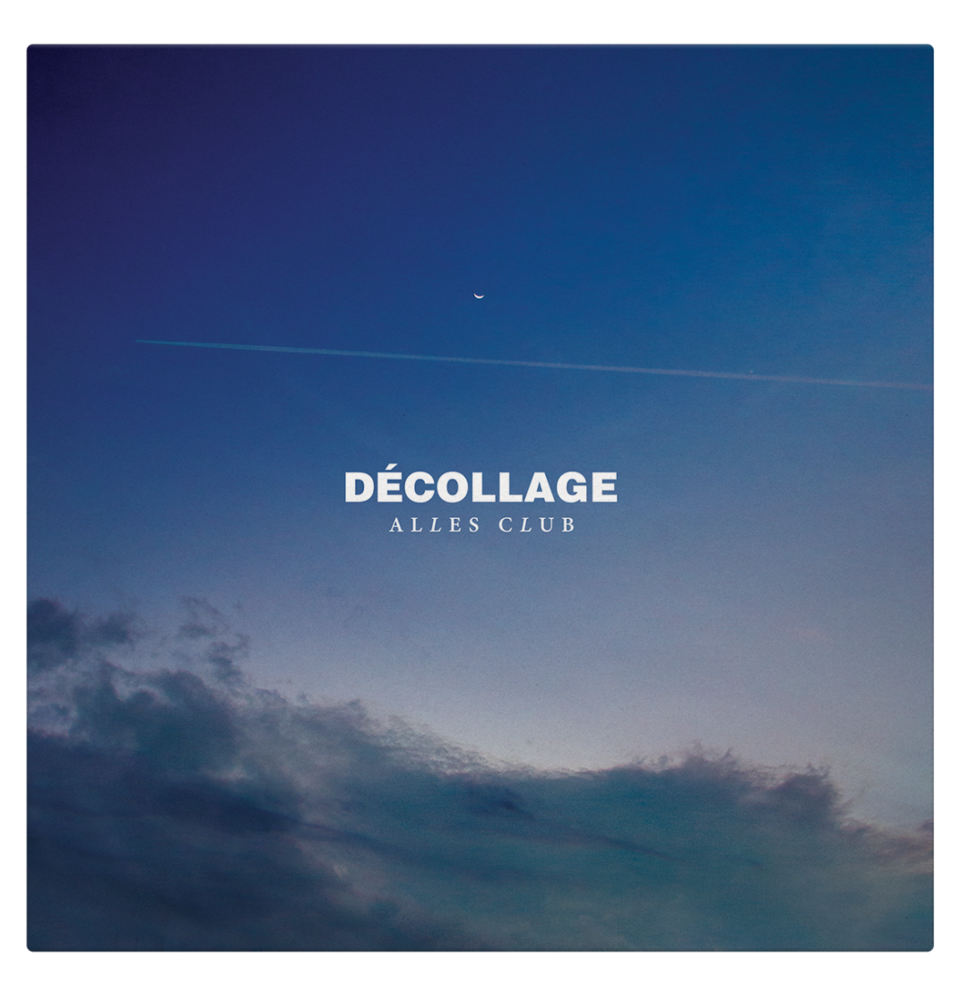 Cover developed for Alles Club's album Décollage