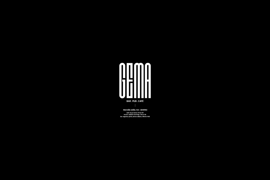 Logo developed for Gema Bar