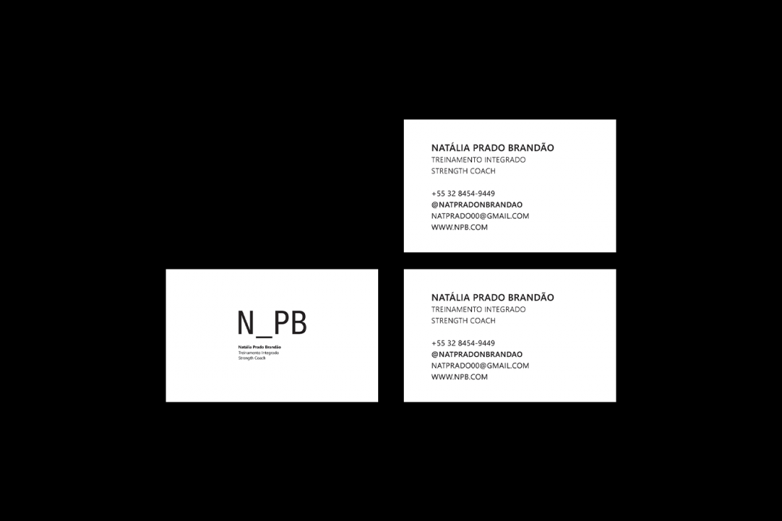 Branding project for N_PB Strength Coach 2020