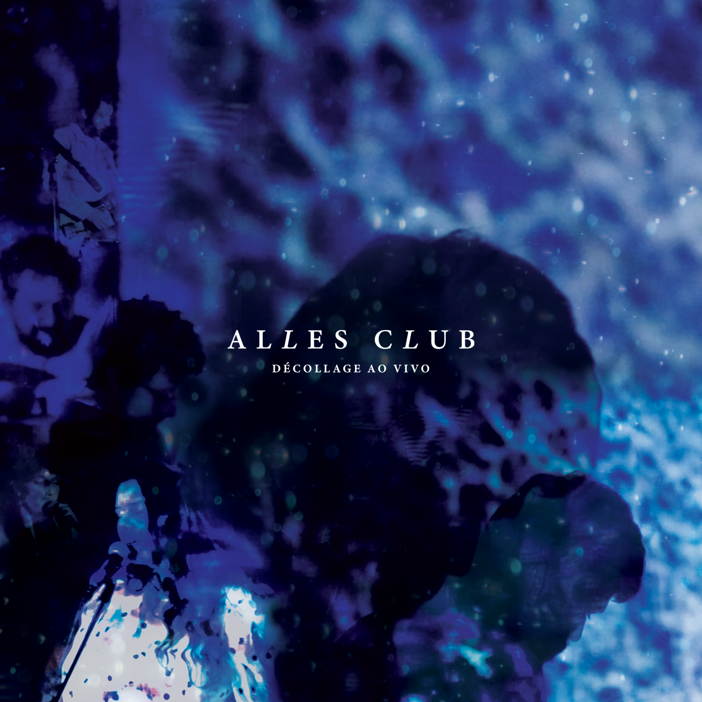 Cover developed for Alles Club's Album Décollage Ao Vivo