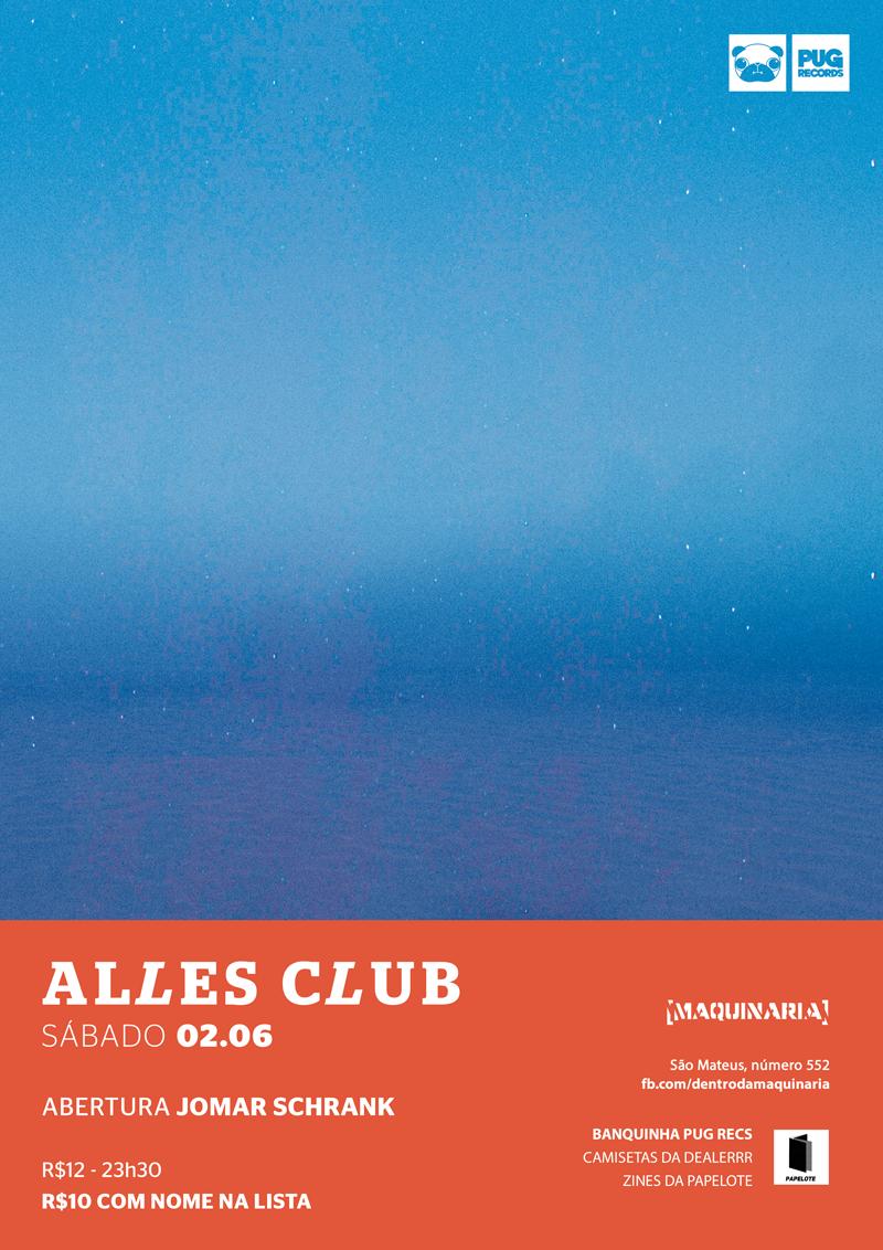 Alles Club print, 2018